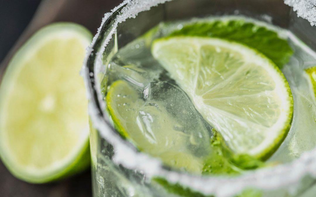 Lemonade with mint