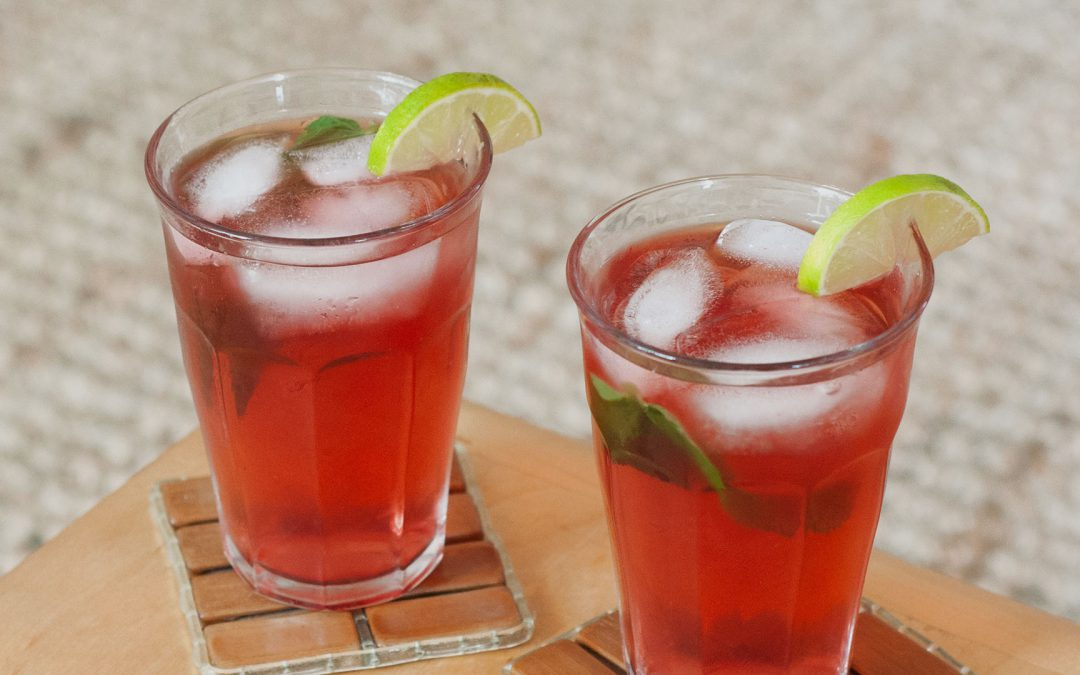 Strawberry Lime Punch