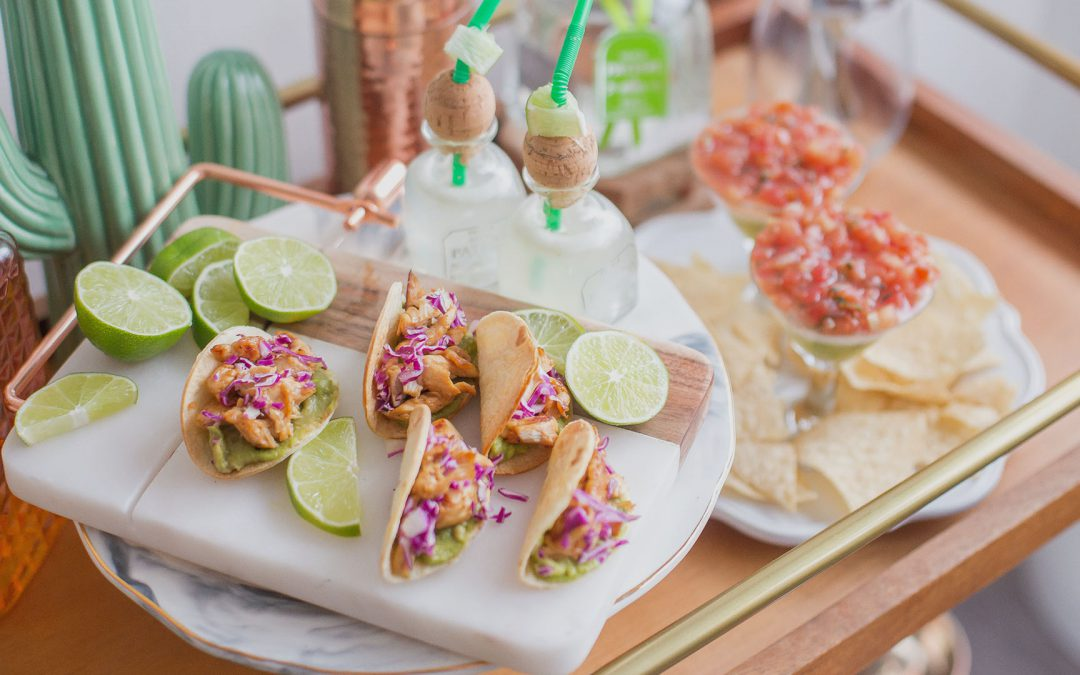 Pork With Tangy Citrus Sauce Tacos